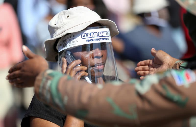 COVID-19 cases slow in South African hotspot provinces, minister says