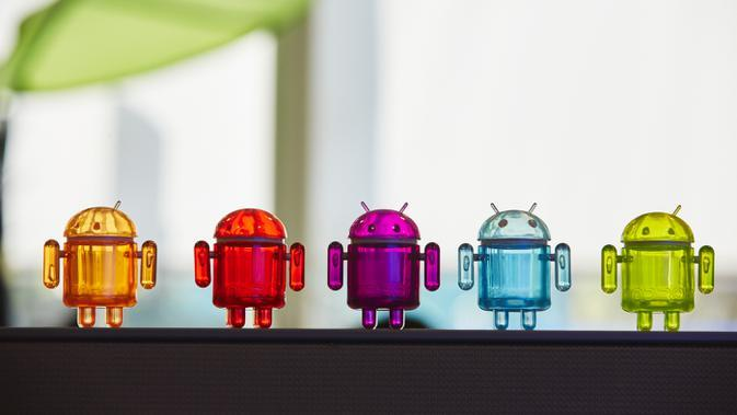 Ilustrasi Android, Robot Android. Kredit: Google