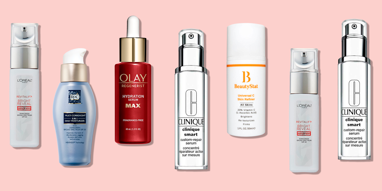 """<p>Also called sun spots, age spots, or hyperpigmentation, dark spots can pop up on your face, hands, and décolletage as a result of <strong>sun exposure, genetics, hormones, and inflammation</strong>, says Howard Murad, M.D., board-certified dermatologist and founder of <a href=""""https://go.redirectingat.com?id=74968X1596630&url=https%3A%2F%2Fwww.murad.com%2F&sref=https%3A%2F%2Fwww.goodhousekeeping.com%2Fbeauty%2Fanti-aging%2Fg29323401%2Fbest-dark-spot-corrector%2F"""" target=""""_blank"""">Murad Skincare</a>. You've likely noticed freckle-like spots after a day at the beach or week-long vacation. These are sunspots or <a href=""""https://www.goodhousekeeping.com/acne-help-tips/"""" target=""""_blank"""">post-acne</a> marks darkened by UV exposure, he explains. But they can also be age spots or melasma, which often occurs with pregnancy. Instead of just covering them <a href=""""https://www.goodhousekeeping.com/beauty-products/g2458/best-concealers-reviews/"""" target=""""_blank"""">with concealer</a>, shop for dark spot correctors that can help lighten hyperpigmentation for good. </p><p>The <a href=""""https://www.goodhousekeeping.com/institute/about-the-institute/a19748212/good-housekeeping-institute-product-reviews/"""" target=""""_blank"""">Good Housekeeping Institute</a> Beauty Lab experts evaluate hundreds of <a href=""""https://www.goodhousekeeping.com/beauty/anti-aging/g28135730/best-skincare-products/"""" target=""""_blank"""">skincare products </a>every year, including ones that claim to correct dark spots, from <a href=""""https://www.goodhousekeeping.com/beauty/anti-aging/g27004193/best-night-creams/"""" target=""""_blank"""">night creams</a> to <a href=""""https://www.goodhousekeeping.com/beauty/anti-aging/g26857925/best-face-peel-at-home/"""" target=""""_blank"""">at-home peels</a>. GH Beauty Lab scientists conduct rigorous clinical testing, recruiting women of all ages and skin types to assess the products' results after at home use. In the Lab, their skin is scanned with the Visia Complexion Analyzer machine to measure changes in"""