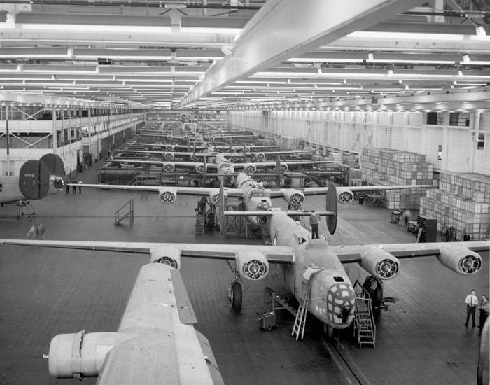 March 28: Ford goes into the bomber-building business on this date in 1941