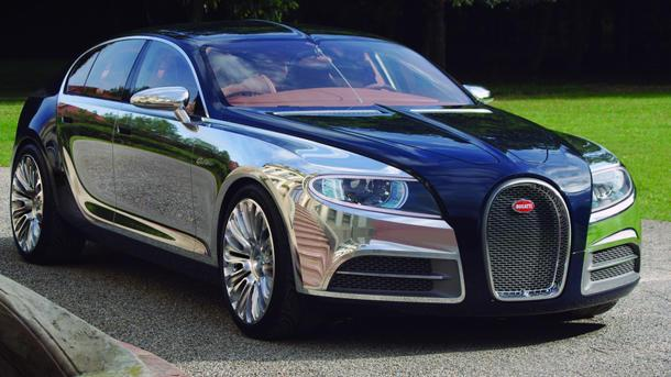 Bugatti 16C Galibier sedan awaits the $2 million green light