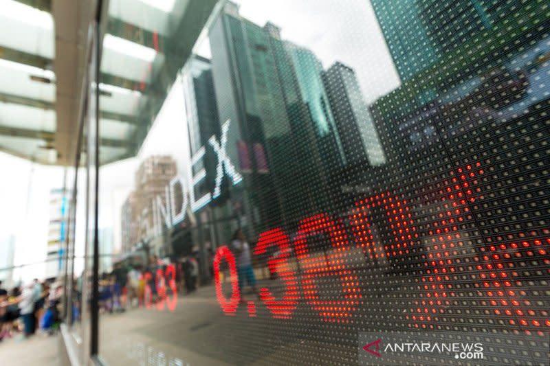 Saham Hong Kong hapus kenaikan awal, indeks HSI jatuh 1,38 persen