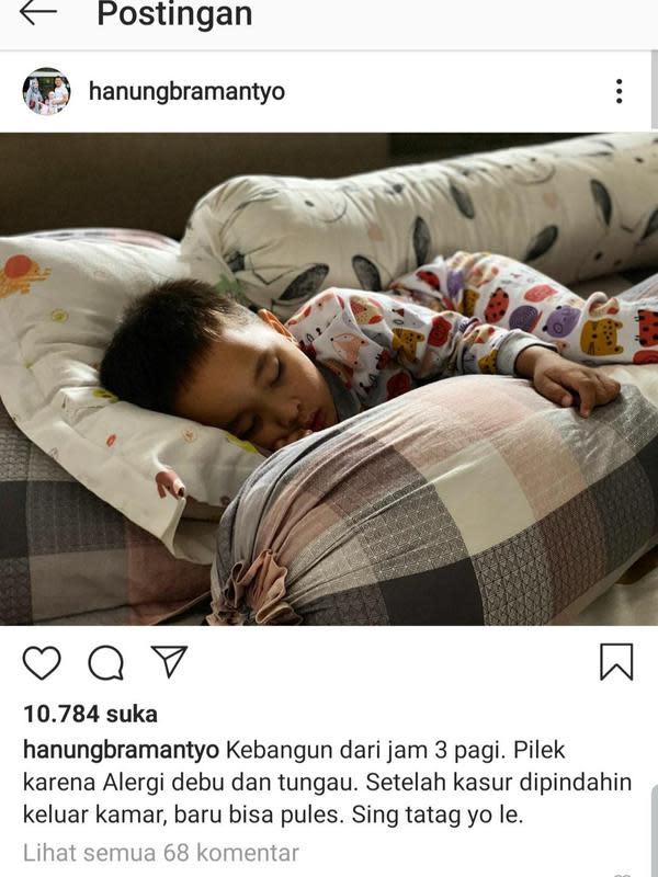 Unggahan Hanung Bramantyo. (Foto: Instagram @hanungbramantyo)