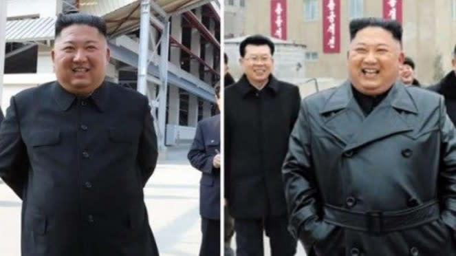 VIVA Militer: Kejanggalan tubuh Kim.