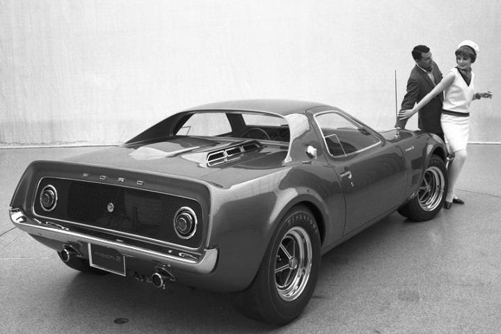 1967 Ford Mustang Mach 2 Concept Rear