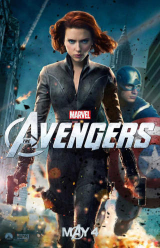 First 'Avengers' clip shows Scarlett Johansson all tied up