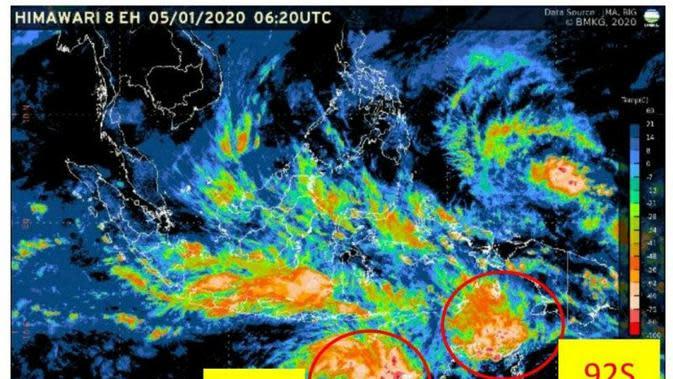 BMKG: Bibit Siklon Tropis di Samudera Hindia Barat Daya Sebabkan Hujan Angin di Jakarta