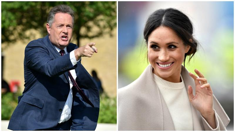 Meghan Markle has once again come under Piers Morgan's fire. Photo: Getty