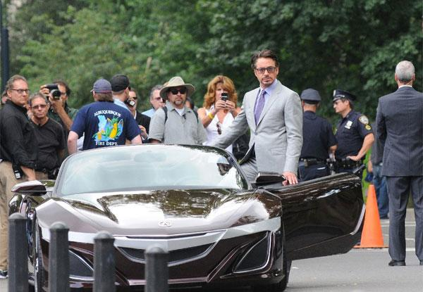 Iron Man rumored to drive new Acura NSX in upcoming Avengers flick
