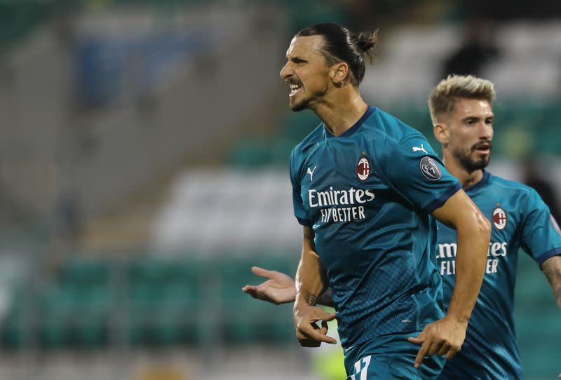 Ibrahimovic ready for derby after COVID-19 infection