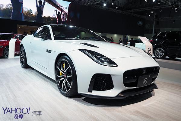 【台北車展】Jaguar & Land Rover 展演時刻玩美均衡-2018台北車展
