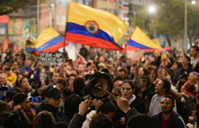 Colombia has been hit by unprecedented mass protests against the unpopular President Ivan Duque
