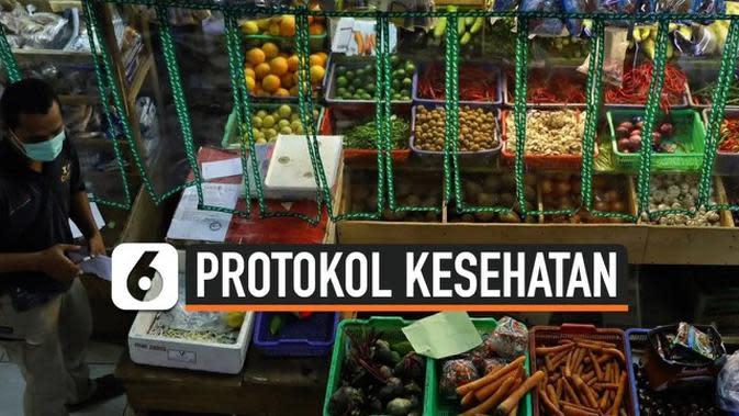 VIDEO: Melihat Penerapan Protokol Kesehatan Covid-19 di Pasar Santa Jakarta