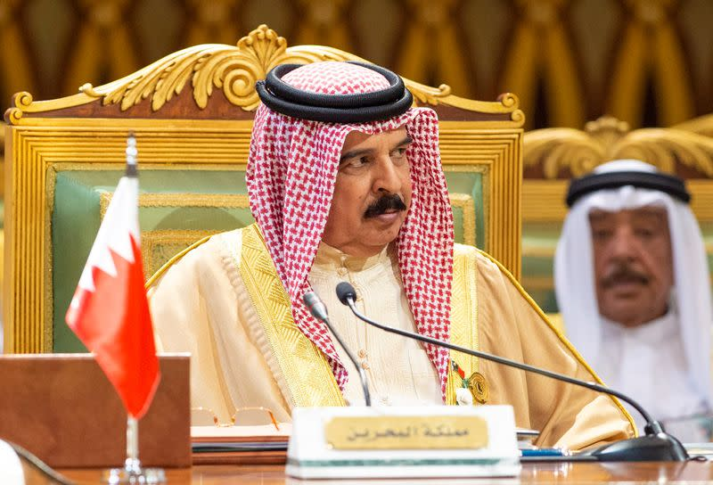Bahrain king says accord with Israel not directed against any country
