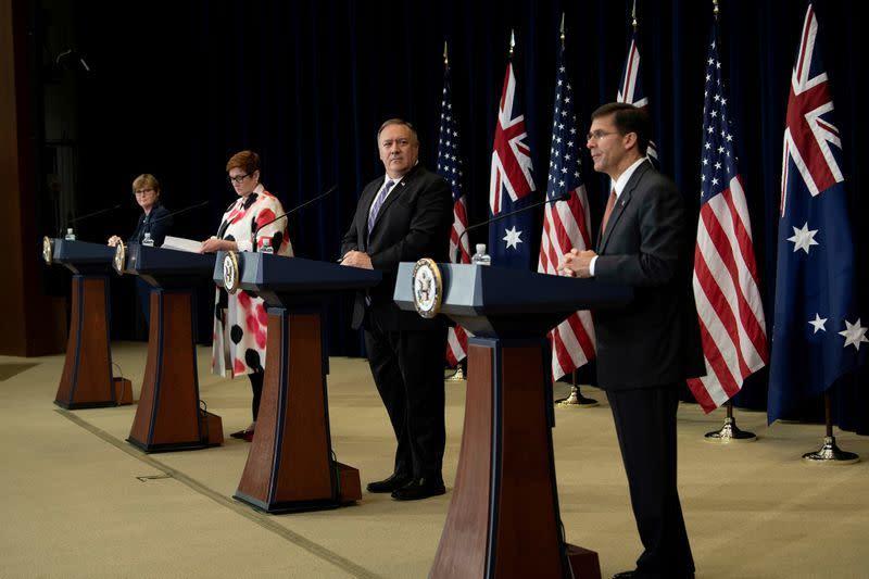 Australia beri tahu AS bahwa negara itu tak mau rusak hubungan penting dengan China