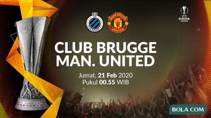 Saksikan Exclusive Live Streaming Liga Europa: Club Brugge Vs MU di Vidio