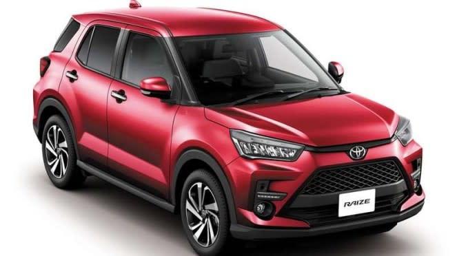 Mobil baru Toyota Raize