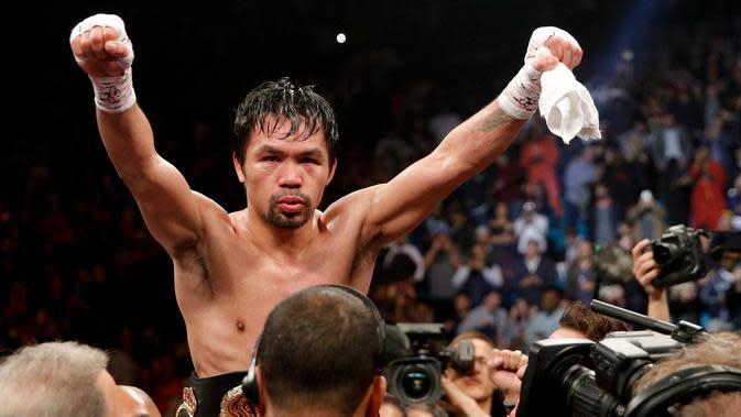 Manny Pacquiao Promosikan Petinju yang Pernah Menang KO atas Ery Subiyasno