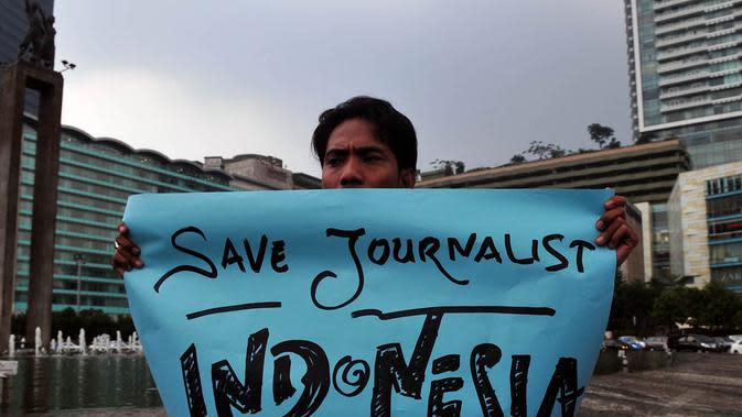 YLBHI Minta Polisi yang Pukul Jurnalis Saat Liput Demo Diproses Hukum