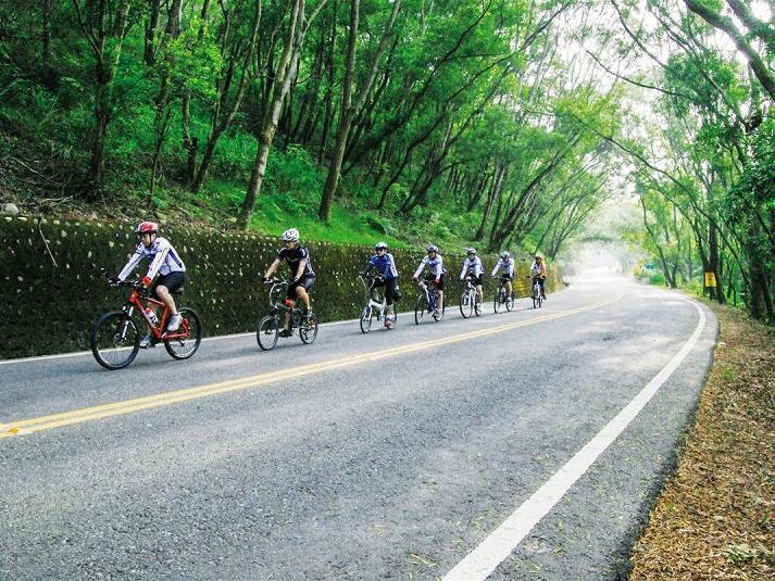 金墩山自行車路線