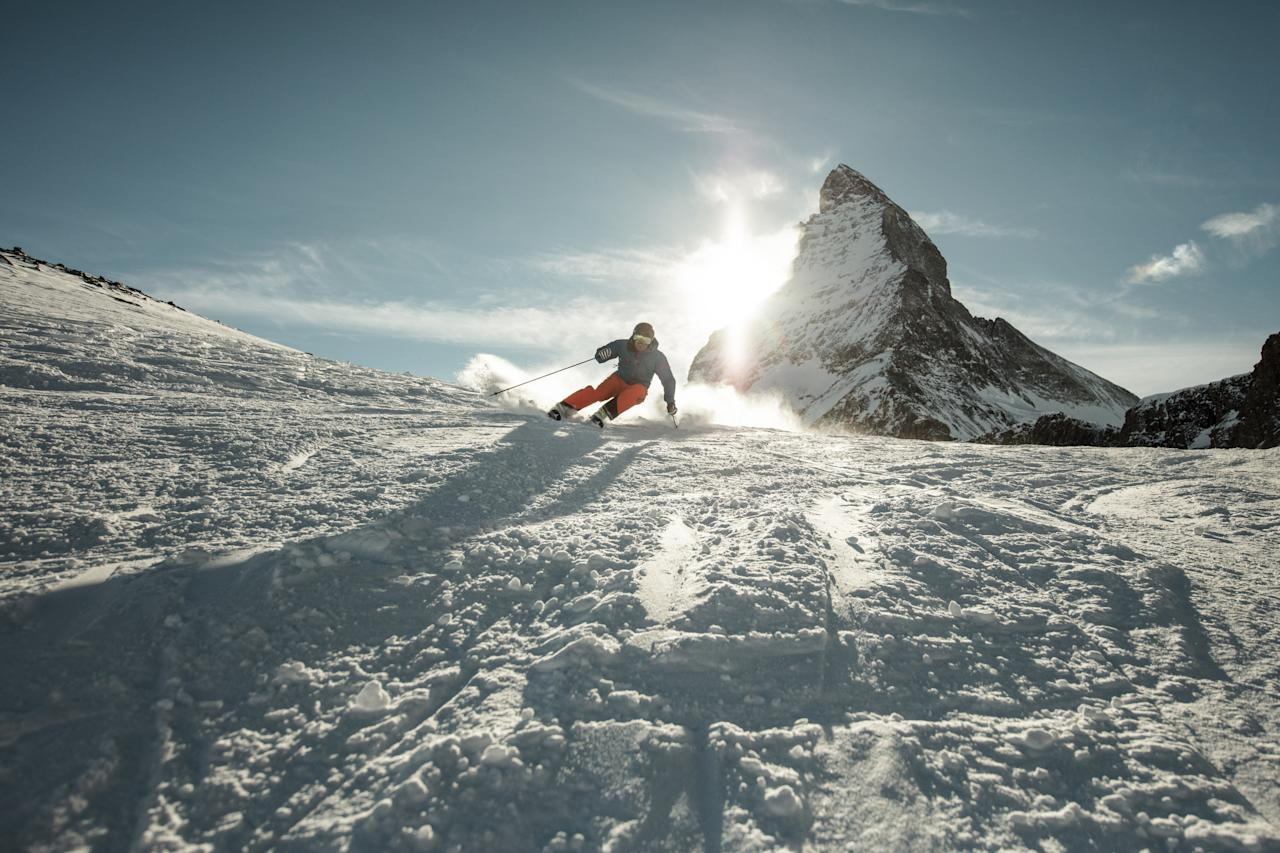 Soak up the magic of the Matterhorn as Zermatt in Switzerland becomes the first European destination partner on the Ikon Pass. The iconic Matterhorn towers over more than 3,500 acres of terrain that spans both Switzerland and Italy, offering Swiss hospitality coupled with Italian lifestyle, in the highest skiable terrain offered in the picturesque Alps. Photo: Supplied/Zermat