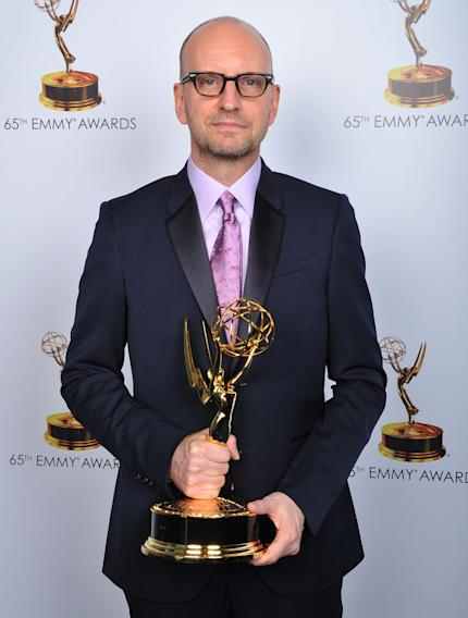 Steven Soderbergh poses for a portrait at the 2013 Primetime Creative Arts Emmy Awards, on Sunday, September 15, 2013 at Nokia Theatre L.A. Live, in Los Angeles, Calif. (Photo by Vince Bucci/Invision for Academy of Television Arts & Sciences/AP Images)
