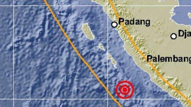 Bengkulu Diguncang Gempa Magnitudo 5, Terasa Seperti Truk Berlalu