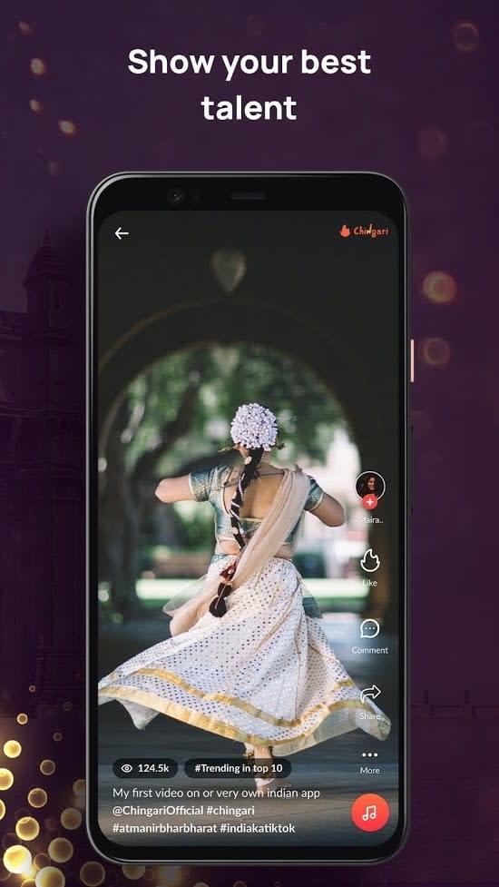 best tiktok alternative apps chingari1