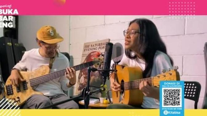 Buka Bareng Kapanlagi Youniverse bersama Endah N Rhesa (foto via Kapanlagi.com)