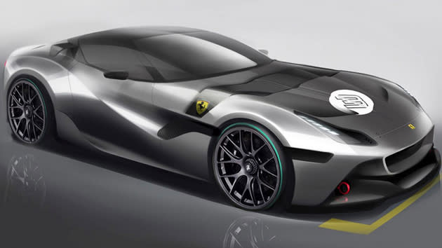 Ferrari building one-off model for Dubai businessman