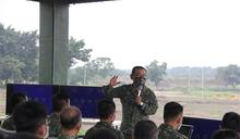 8軍團偽裝整備示範 了解要領統一作法