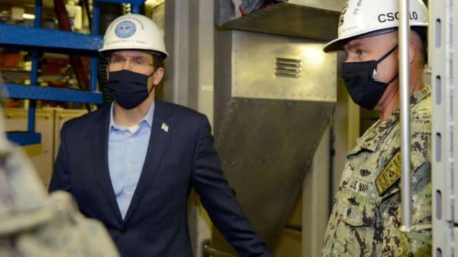 VIVA Militer: Menteri Pertahanan Amerika Mark Esper