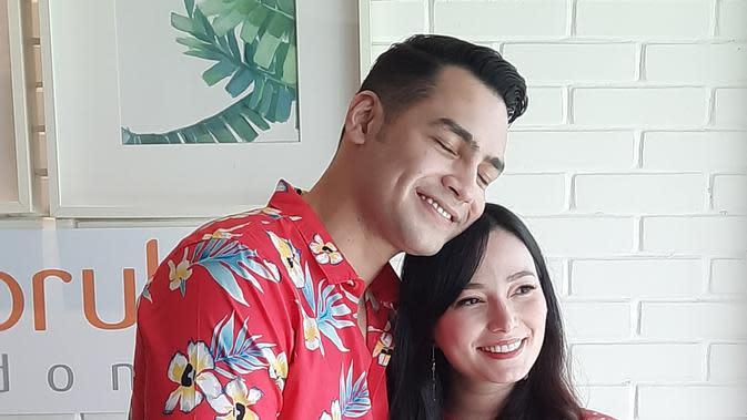 Asmirandah dan Jonas Rivano. (Foto: Wayan Diananto)