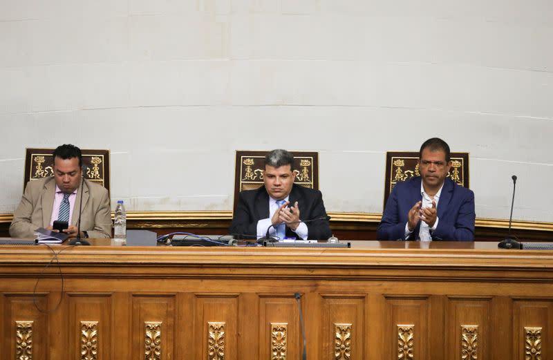 Venezuela's parliament meeting in Caracas