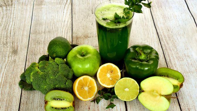 ilustrasi jus buah dan sayuran untuk new normal/pixabay