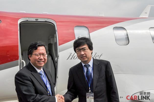 陸海空通包誰與爭鋒,實現本田宗一郎夢想的HondaJet HA-420首度抵台