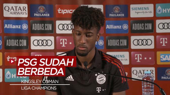 VIDEO: Pendapat Kingsley Coman Soal PSG dan Bayern Munchen, Jelang Final Liga Champions