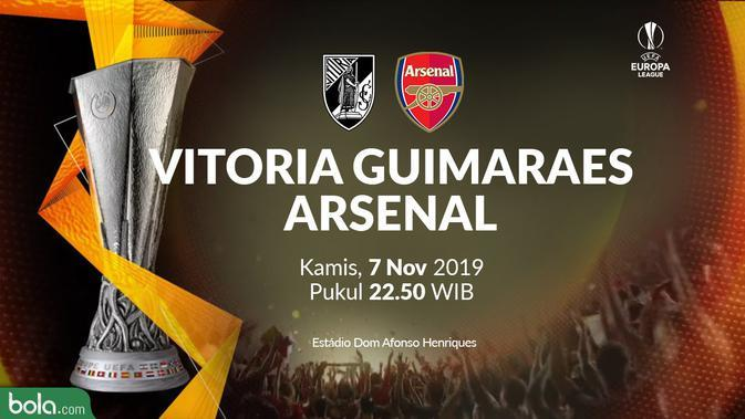 Liga Europa - Vitoria Guimaraes Vs Arsenal (Bola.com/Adreanus Titus)