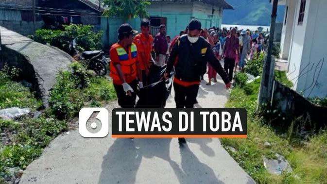 VIDEO: Usai Beri Makan Ikan di Danau Toba, Pria Tewas Tenggelam
