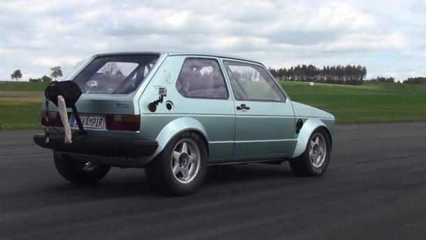 1,000-hp VW Golf hits 155 mph in 6.1 seconds, thrashing Venom GT
