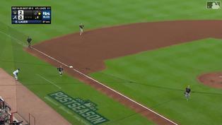 一顆星進手套!Luis Urías驚險收下出局數【MLB球星精華】20211013