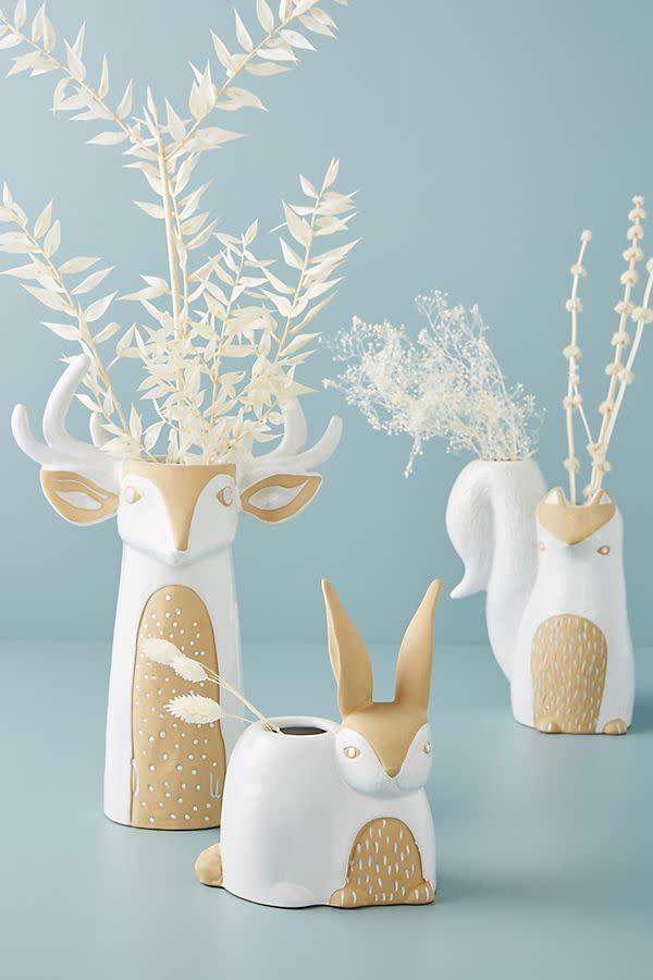 Woodland Creature Vase