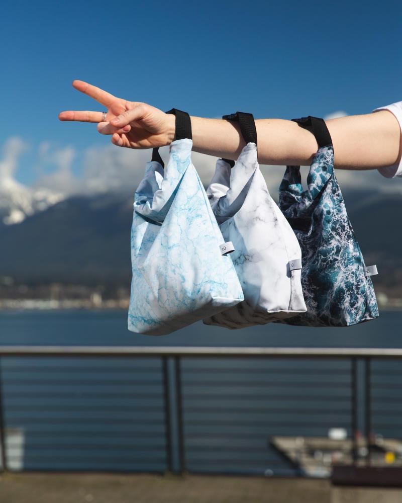 rü supply co. eco-friendly lunch bags. (Image via rü supply co./Joseph Gulizia)