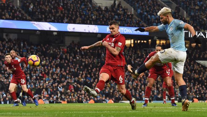 Manchester City 2-1 Liverpool. (AFP/Paul Ellis)