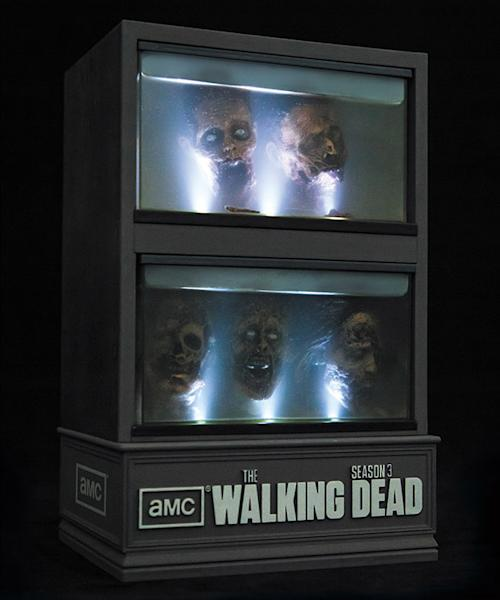 'The Walking Dead' Season 3 DVDs: They'll come with floating zombie heads