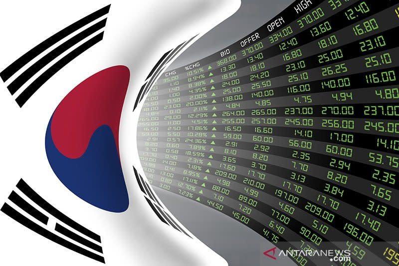 Bursa saham Seoul ditutup melemah, indeks KOSPI turun 0,33 persen