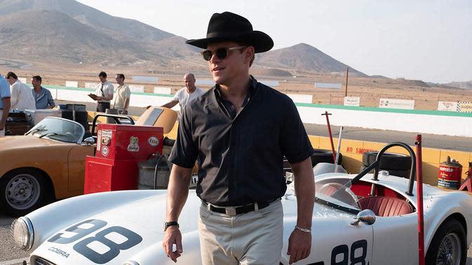 Matt Damon sebagai Shelby. (Foto: Dok. IMDb/ 20th Century Fox)