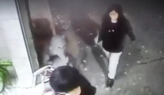 Chan Tong-kai (left) and Poon Hiu-wing are captured on CCTV entering the Taipei hotel where Poon was later killed. Photo: Facebook