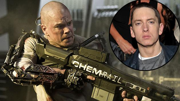 Matt Damon's 'Elysium' Role Was First Offered to Eminem
