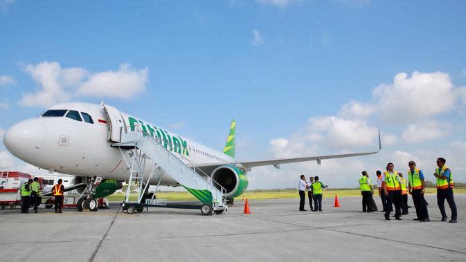 Dalam waktu dekat, Citilink yang merupakan anak usaha Garuda Indonesia akan menggarap rute Balikpapan-Banyuwangi.